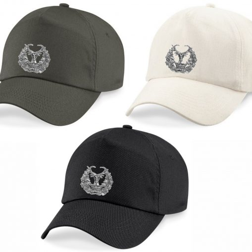 Baseball Caps - Khaki, Desert Sand, Black - Gordon Highlanders