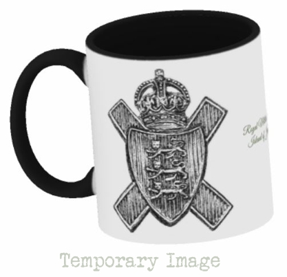 Royal Militia of the Island of Jersey Stoneware Mug - Temporary Image