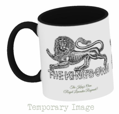 The King's Own (Royal Lancaster Regiment) Stoneware Mug - Temporary Image
