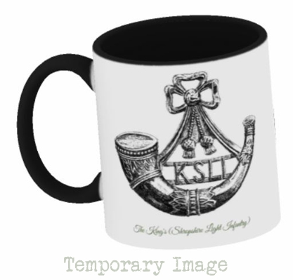 The King's (Shropshire Light Infantry) Stoneware Mug - Temporary Image