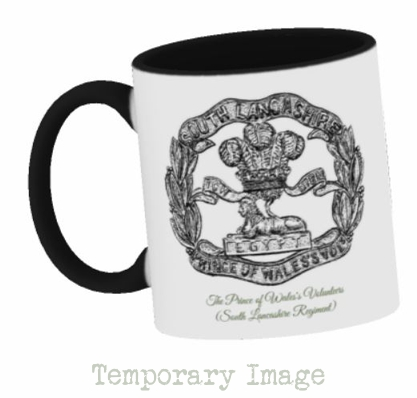 Prince of Wales's Volunteers (South Lancashire Regiment) Stoneware Mug - Temporary Image