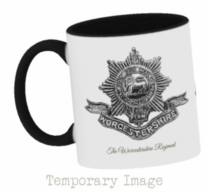 Worcestershire Regiment Stoneware Mug - Temporary Image