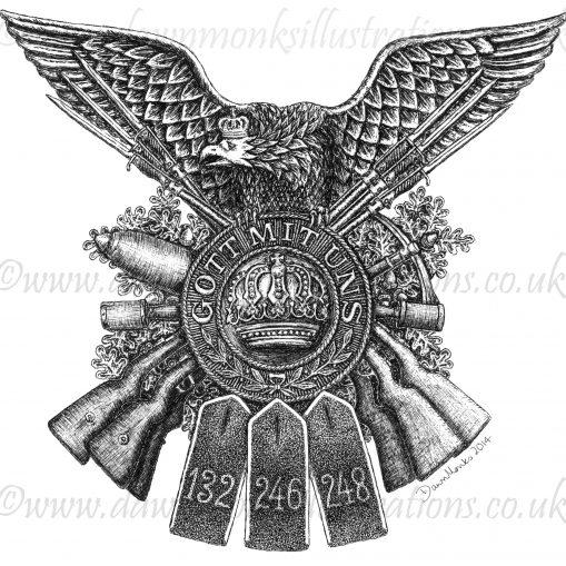 German Regiments Design - WW1