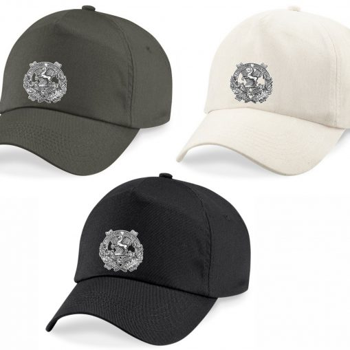 Baseball Caps - Khaki, Desert Sand, Black - 10th King's