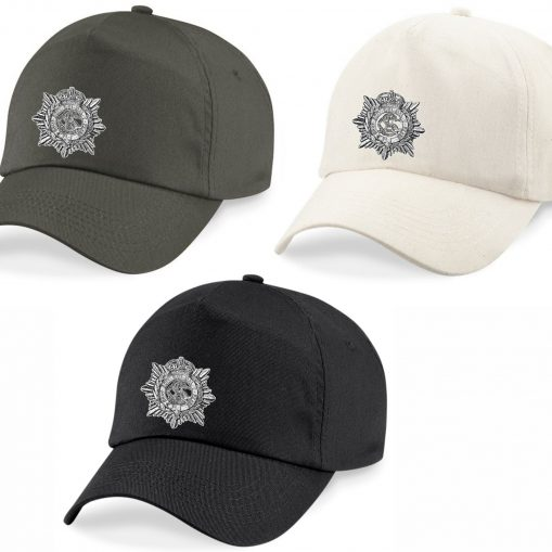 Baseball Caps - Khaki, Desert Sand, Black - Army Service Corps