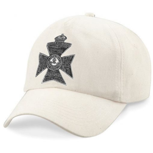 Baseball Cap - Desert Sand – King's Royal Rifle Corps Cap Badge - WW1