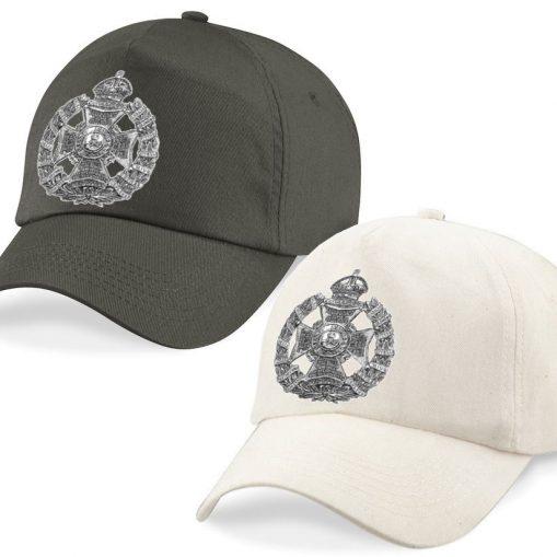 Baseball Caps - Desert Sand/Khaki – Rifle Brigade Cap Badge - WW1