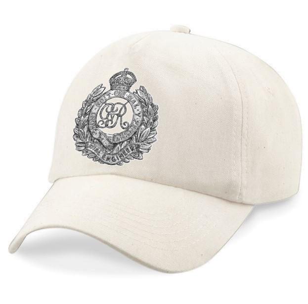 Royal Engineers WW1 Cap Badge Design – Baseball Cap – Dawn Monks ... 4041e2b5403