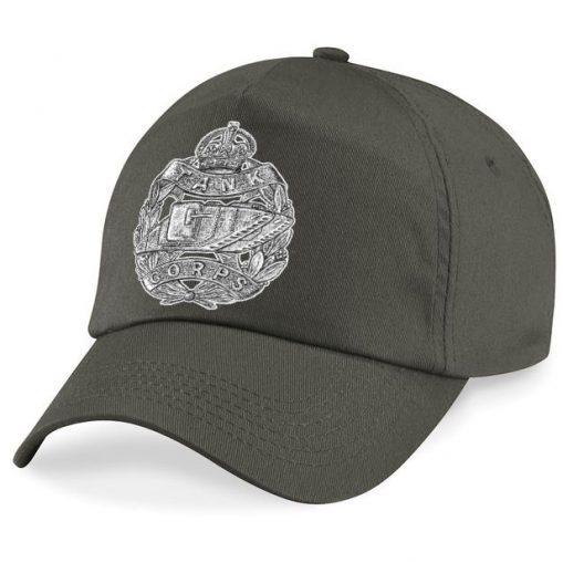 Baseball Cap - Khaki – Tank Corps Cap Badge - WW1
