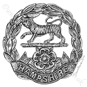 Hampshire Regiment WW1/WW2
