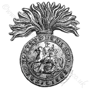 Northumberland Fusiliers WW1