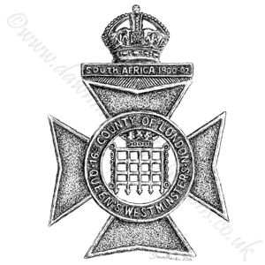 16th London Bttn (Queen's Westminster Rifles) WW1
