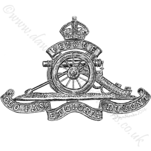 Royal Artillery WW1/WW2