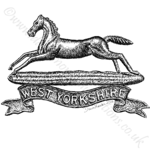 Prince of Wales' Own (West Yorkshire Regt) WW1/WW2