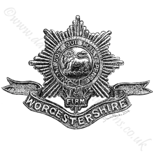 Worcestershire Regiment WW1