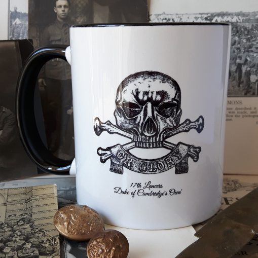 "17th Lancers ""Death or Glory"" Stoneware Mug"