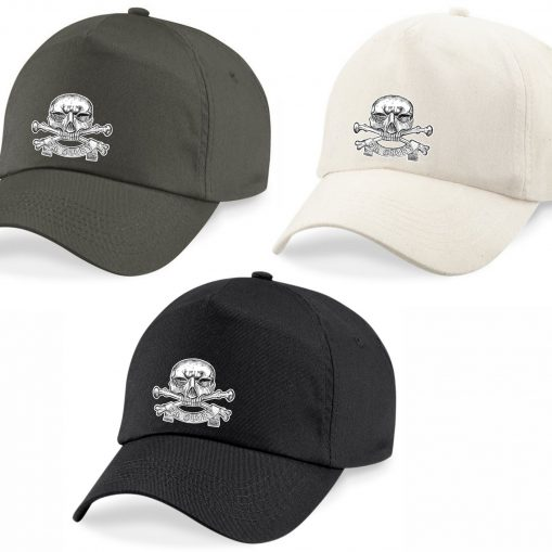 Baseball Caps - Khaki, Desert Sand, Black - 17th Lancers