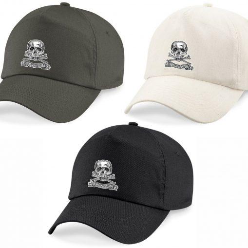 Baseball Caps - Khaki, Desert Sand, Black - Brunswick Inf Reg 92