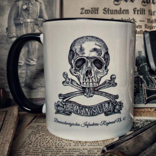 Brunswick Infantry Regt 92 Skull - Stoneware Mug