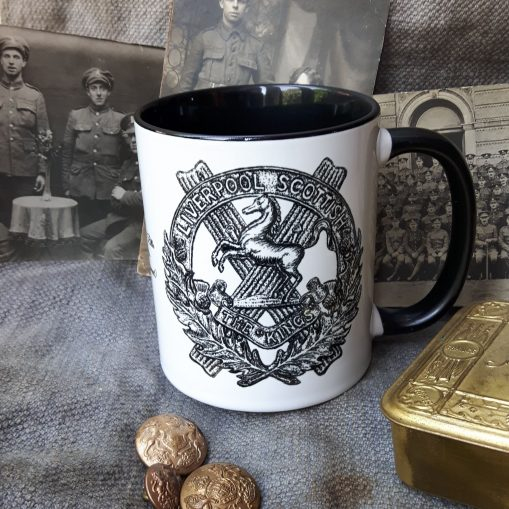 10th King's (Liverpool Scottish) - Stoneware Mug