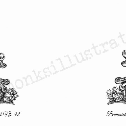 Brunswick Infanterie-Regiment Nr92 - Wraparound Design