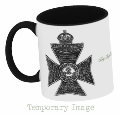 King's Royal Rifle Corps Stoneware Mug - Temporary Image