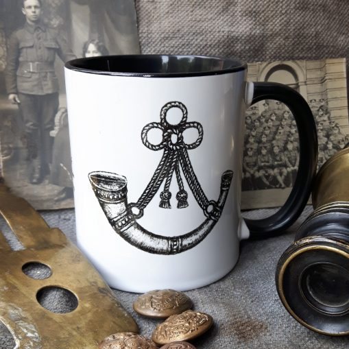 Oxfordshire & Buckinghamshire Light Infantry - Stoneware Mug