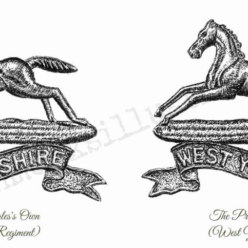 Prince of Wales's Own (West Yorkshire Regiment) - Wraparound Design