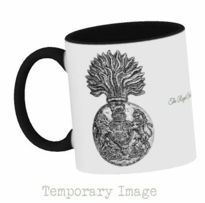 Royal Scots Fusiliers Stoneware Mug - Temporary Image