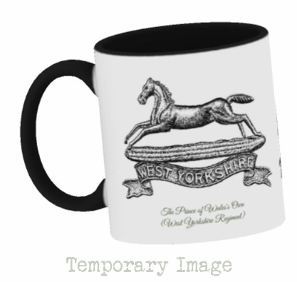 Prince of Wales's Own (West Yorkshire Regiment) Stoneware Mug - Temporary Image