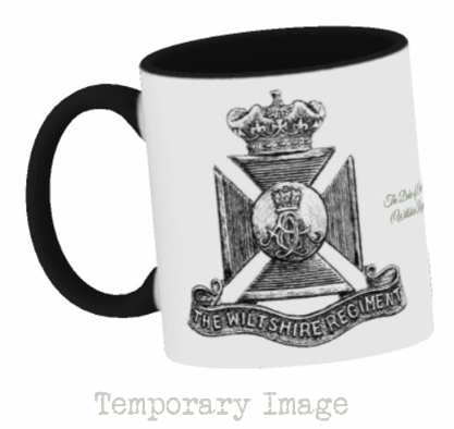 Duke of Edinburgh's (Wiltshire Regiment) Stoneware Mug - Temporary Image