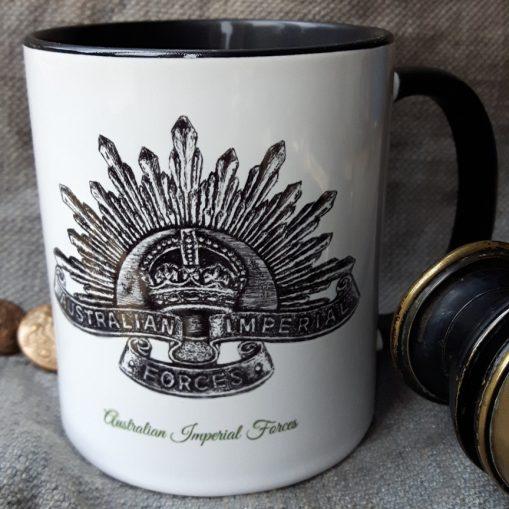 Australian Imperial Forces - Stoneware Mug