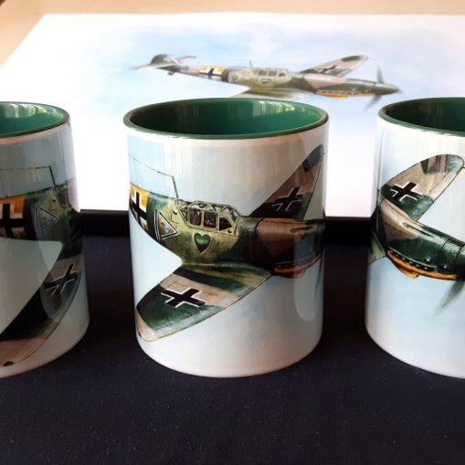 Messerschmitt Bf 109G-2 - Stoneware Mug