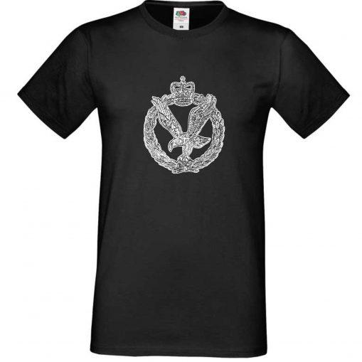Men's T-shirt Black - Army Air Corps