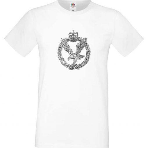 Men's T-shirt White - Army Air Corps