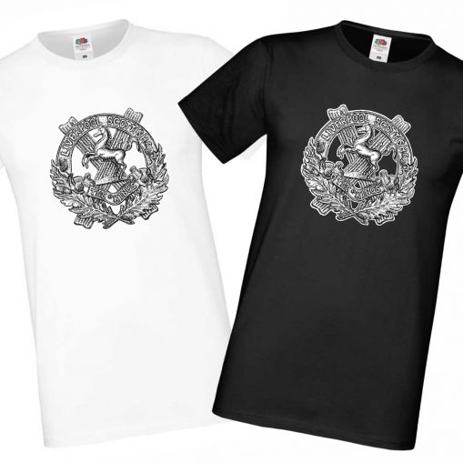 Men's T-shirts Black & White - 10th King's