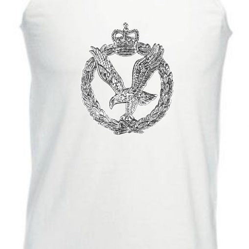 Men's Vest White - Army Air Corps
