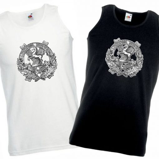 Men's Vests Black & White - 10th King's