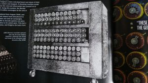 Bletchley Park Bombe Machine - Pen & Ink Illustration - History of War Magazine