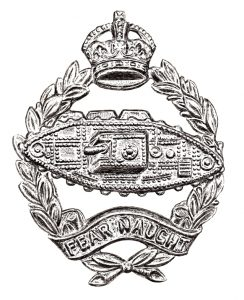 Royal Tank Regiment Badge - Pen & Ink