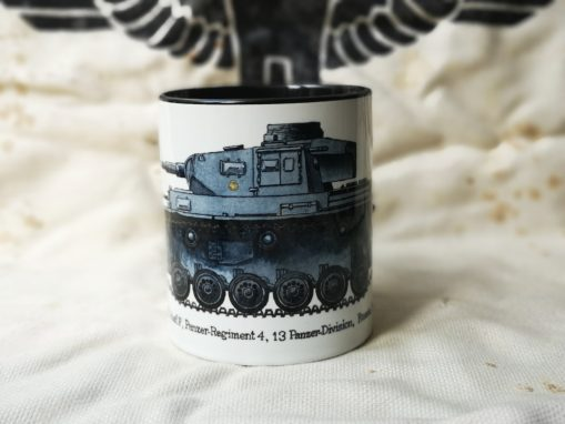 Panzer III - Iron Cross Issue 2 Illustration - Stoneware Mug
