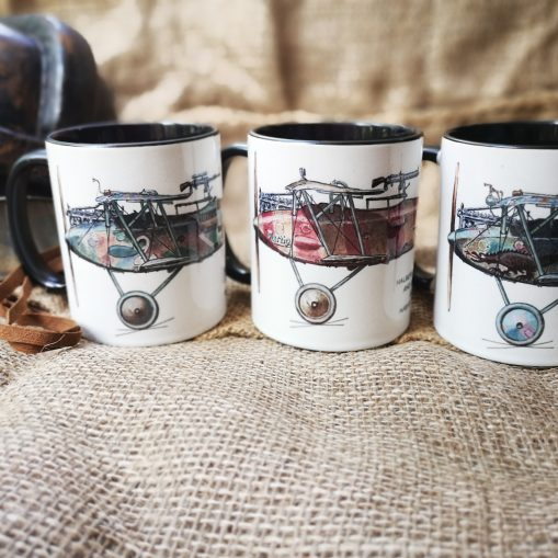 Set of 3 Halberstadt CL-II Stoneware Mugs - Iron Cross Magazine Issue 1