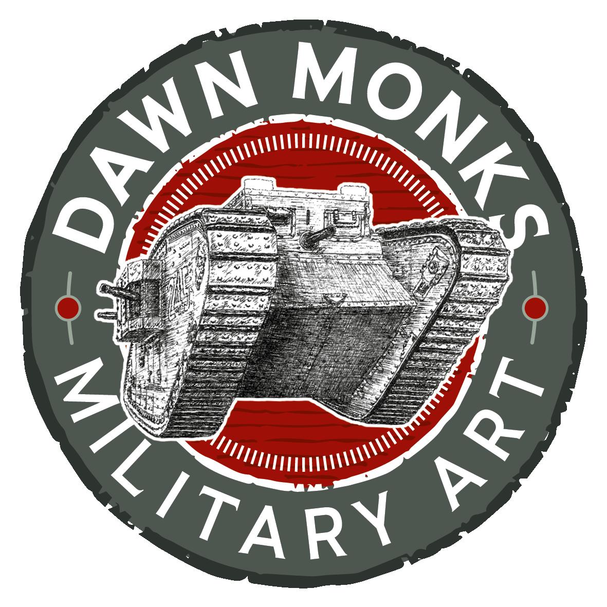 Dawn Monks Military Art & Illustrations