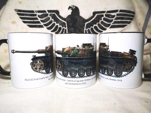 StuG III Ausf G - Iron Cross Issue 3 Illustration - Stoneware Mug