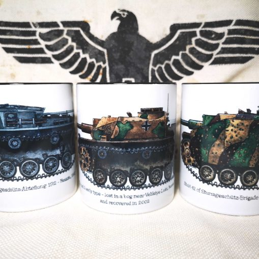 Iron Cross Magazine Assault Gun - Sturmgeschütz & Sturmhaubitze 42 Mugs