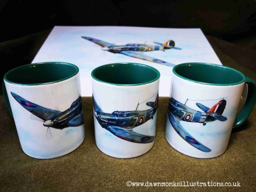 Shuttleworth Collection Sea Hurricane Mugs
