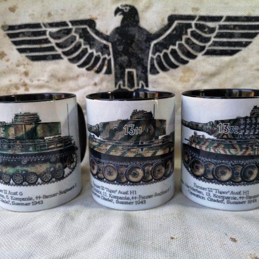 Kursk - Panzer IV & Tigers - Iron Cross Magazine Issue 4 - Stoneware Mugs