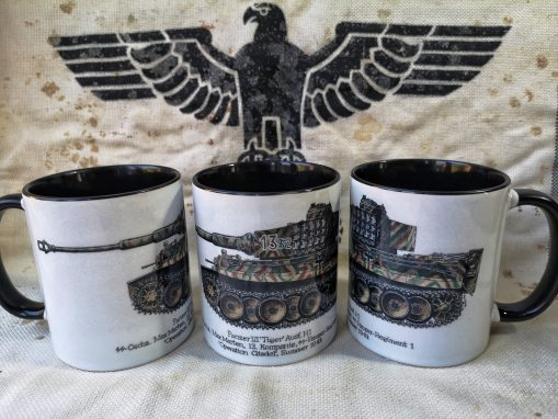 Kursk - Tiger I - Max Marten - Iron Cross Magazine Issue 4 - Stoneware Mug