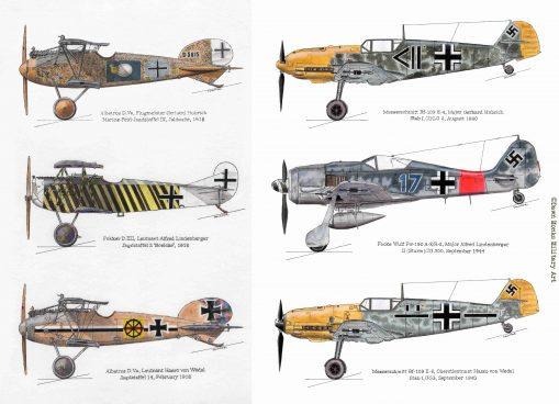 In Different Skies artwork - Issue 5 - Iron Cross Magazine