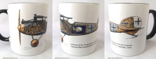 Hubrich Albatros D.Va mug - In Different Skies - Issue 5 - Iron Cross Magazine